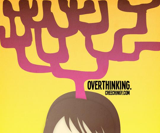 365 Art #28 Overthinking