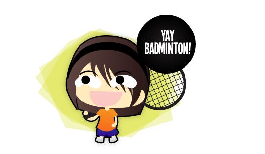 Badminton Thighs