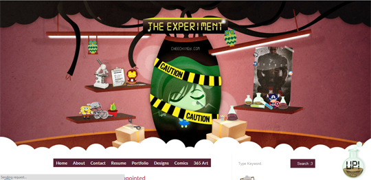 New Layout: The Experiment