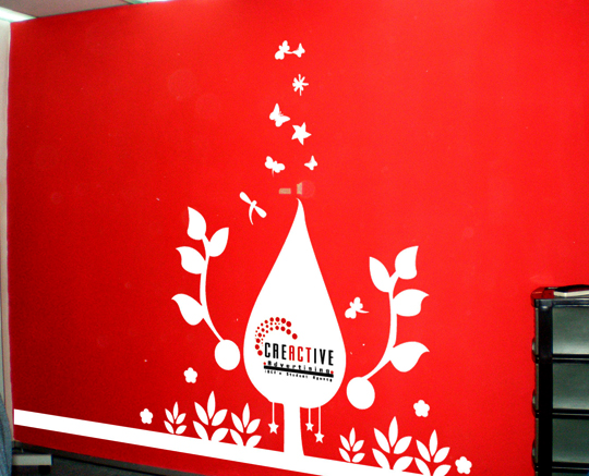 Red Wall Designs