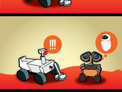 MARS Curiosity First Friend