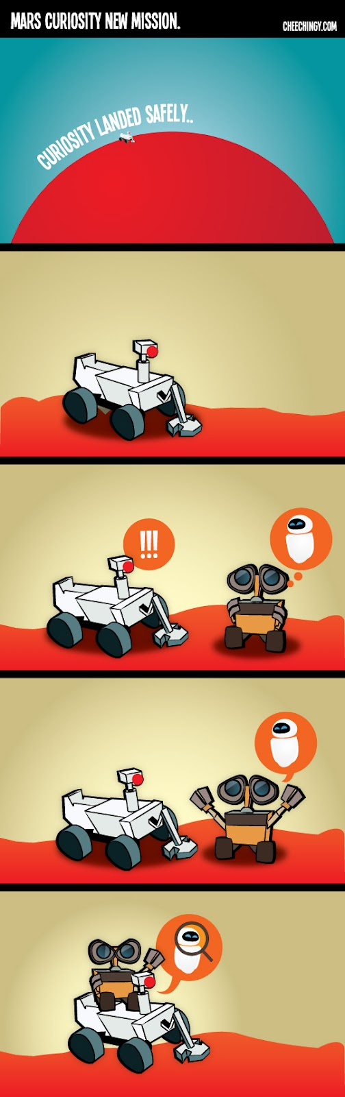 MARS Curiosity First Friend