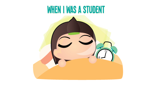Every Morning When I Was A Student