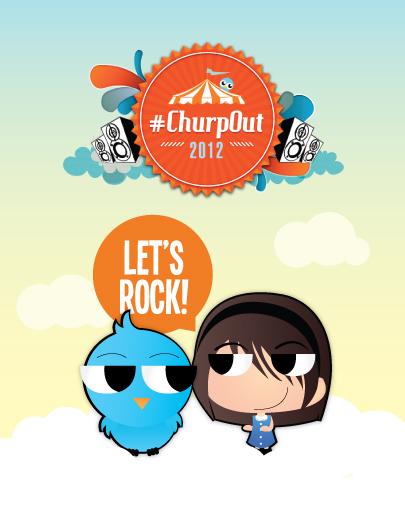 I Was at #ChurpOut2012!