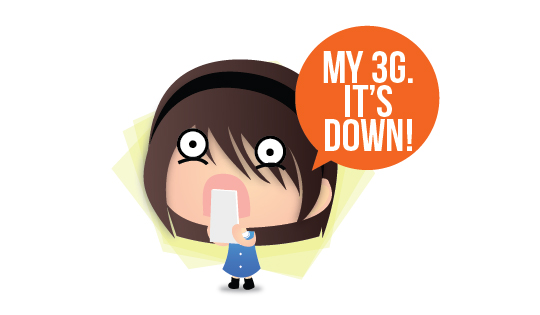 My 3G is Down!