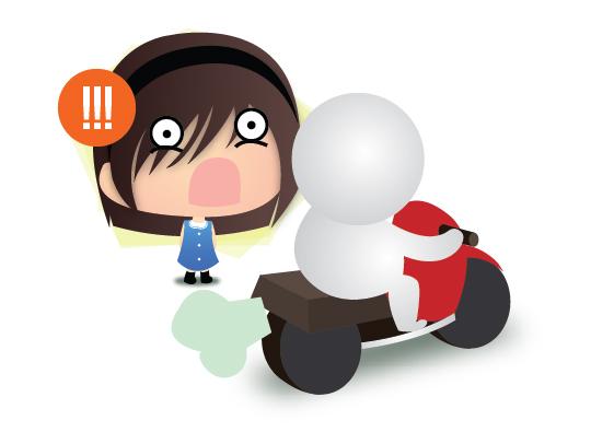Y U NO Wear Helmet?