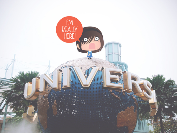 I Was at Universal Studios Singapore!