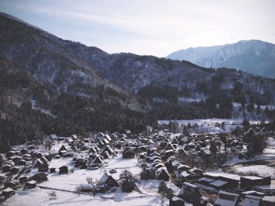 Shirakawa-go, The Village with Gassho-Zukuri Houses
