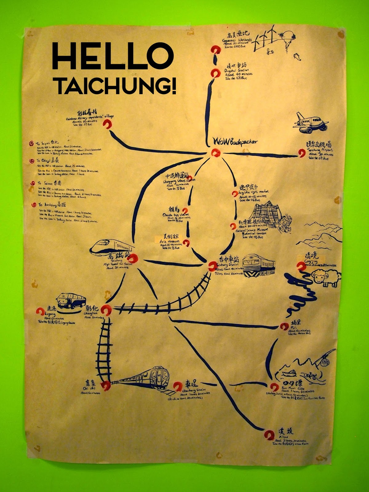 Terrific Taiwan: Let's Go to Taichung!