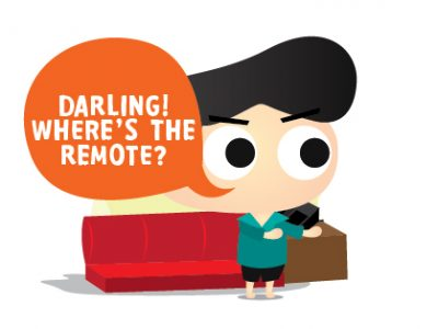 Where's The Remote?
