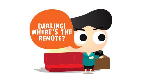 Where's The Remote?