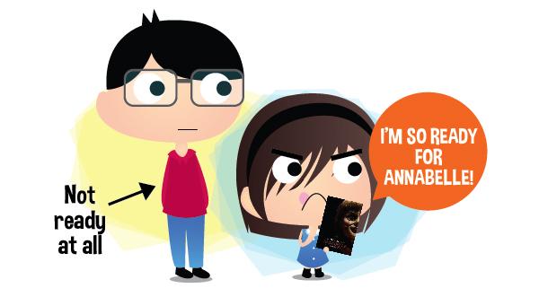 #bimboching watches Annabelle
