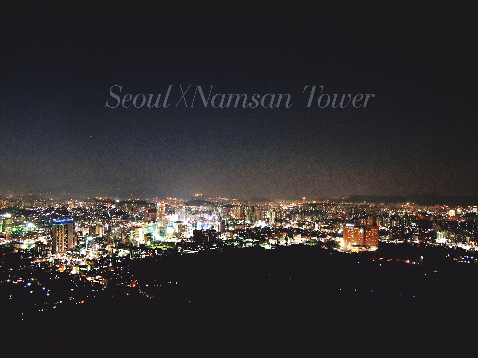 Seoul Day 1: Namsam Tower and The Buffet