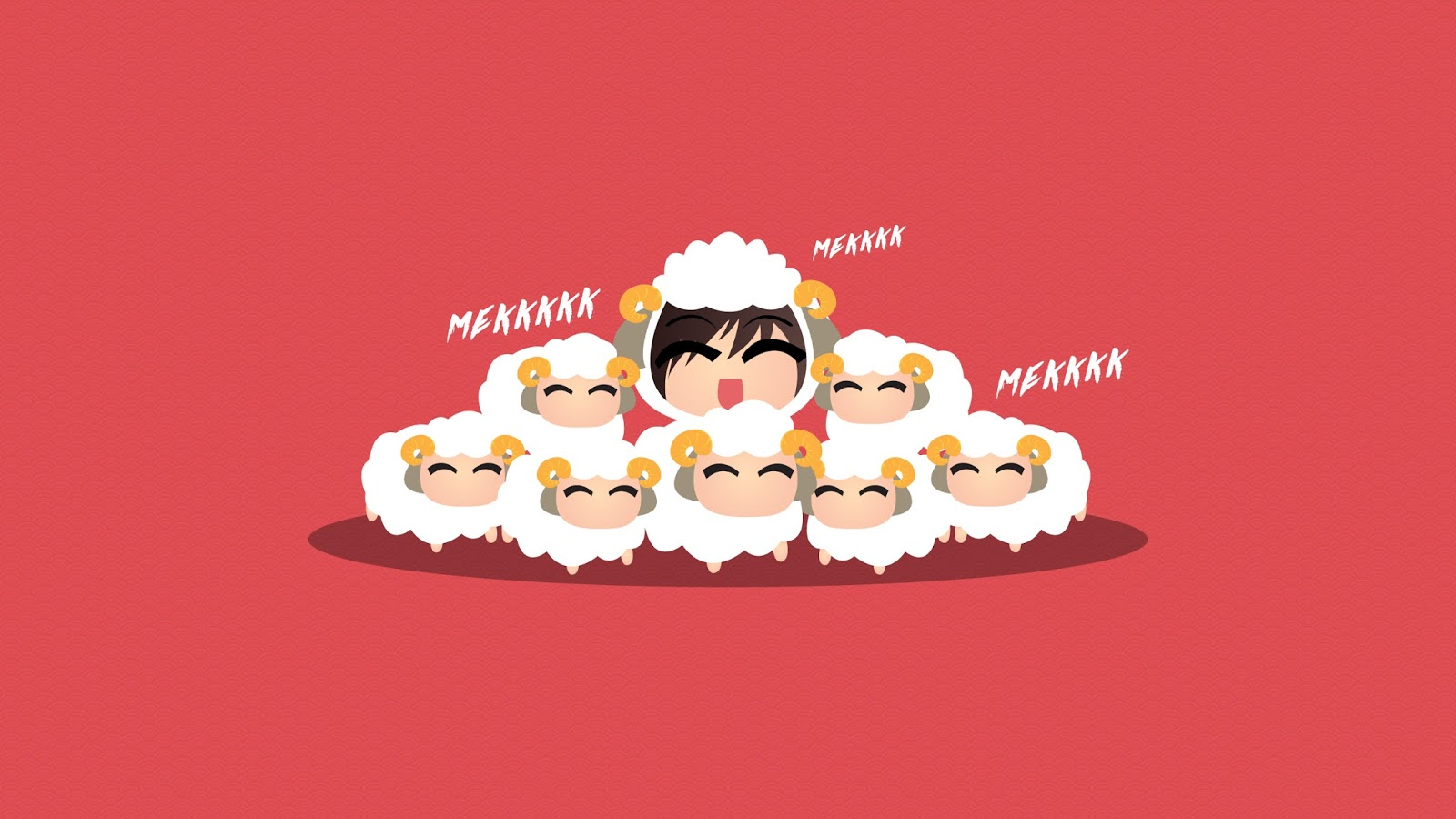 #wallpaper Mekk mekkkk Happy Chinese New Year Mekkkk