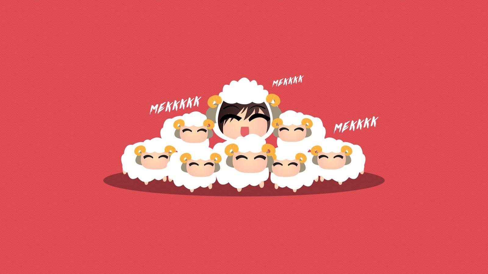 Wallpaper Mekk Mekkkk Happy Chinese New Year Mekkkk Cheechingy