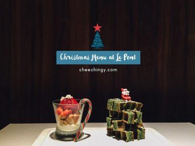 #lepontxmas Novel Noel Christmas Menu