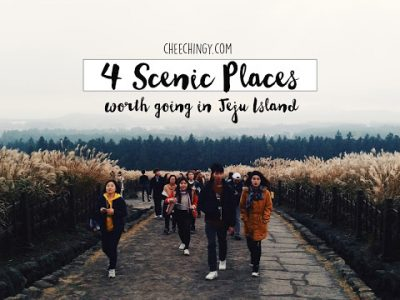 #cheechingytravels 4 Scenic Places Worth Going in Jeju Island