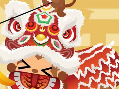 #illustration #wallpaper HAPPY CHINESE NEW YEAR! DONG DONG CHIANG!