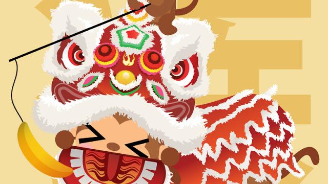 #illustration #wallpaper HAPPY CHINESE NEW YEAR! DONG DONG CHIANG!