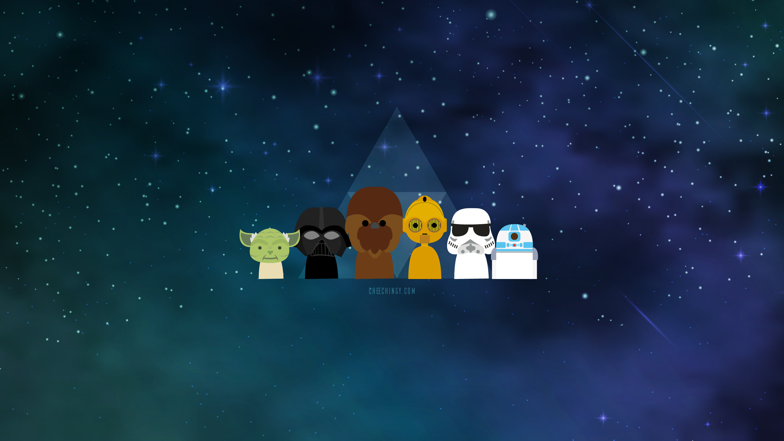 #illustration #wallpaper The Star Wars Chibi Alliance
