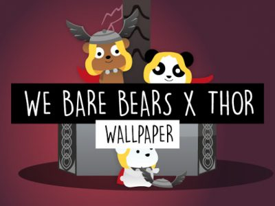 #illustration We Bare Bears x Thor