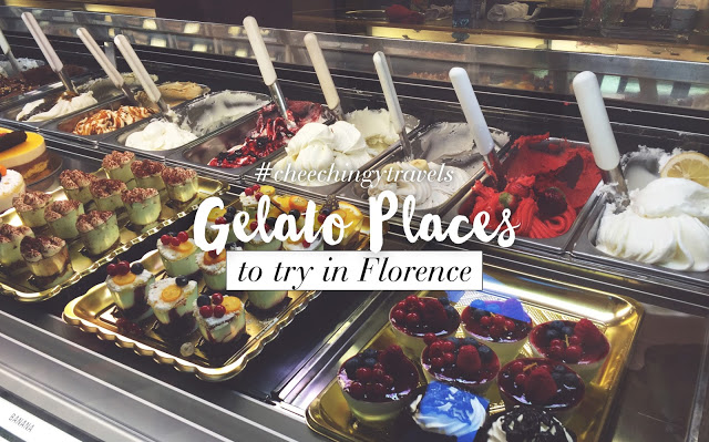4 Gelato Places You Must Try in Florence