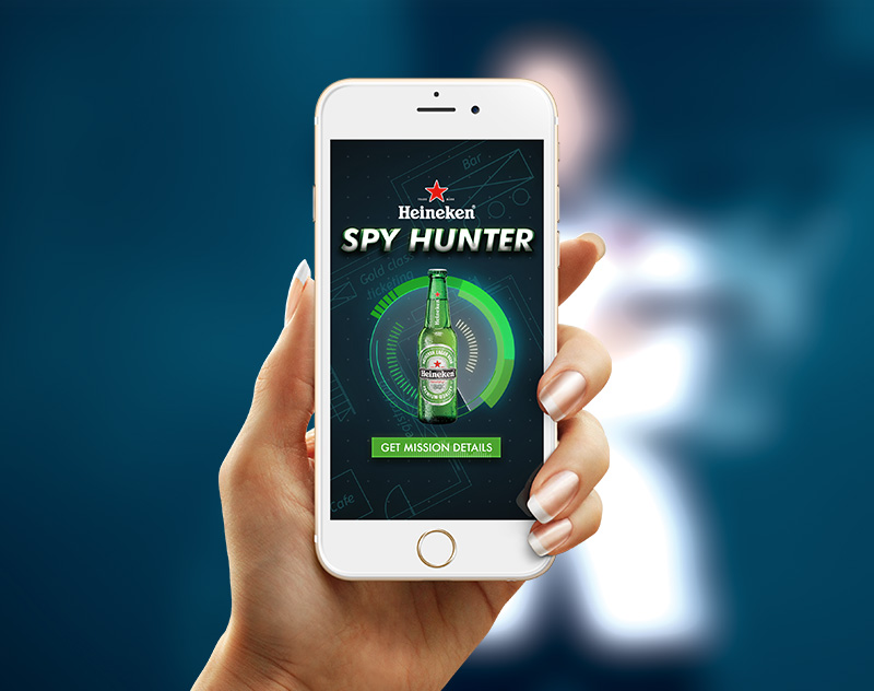 Heineken Spy Hunter