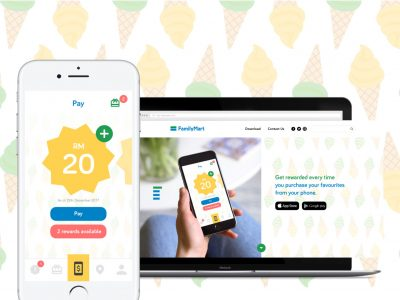 FamilyMart App and Website